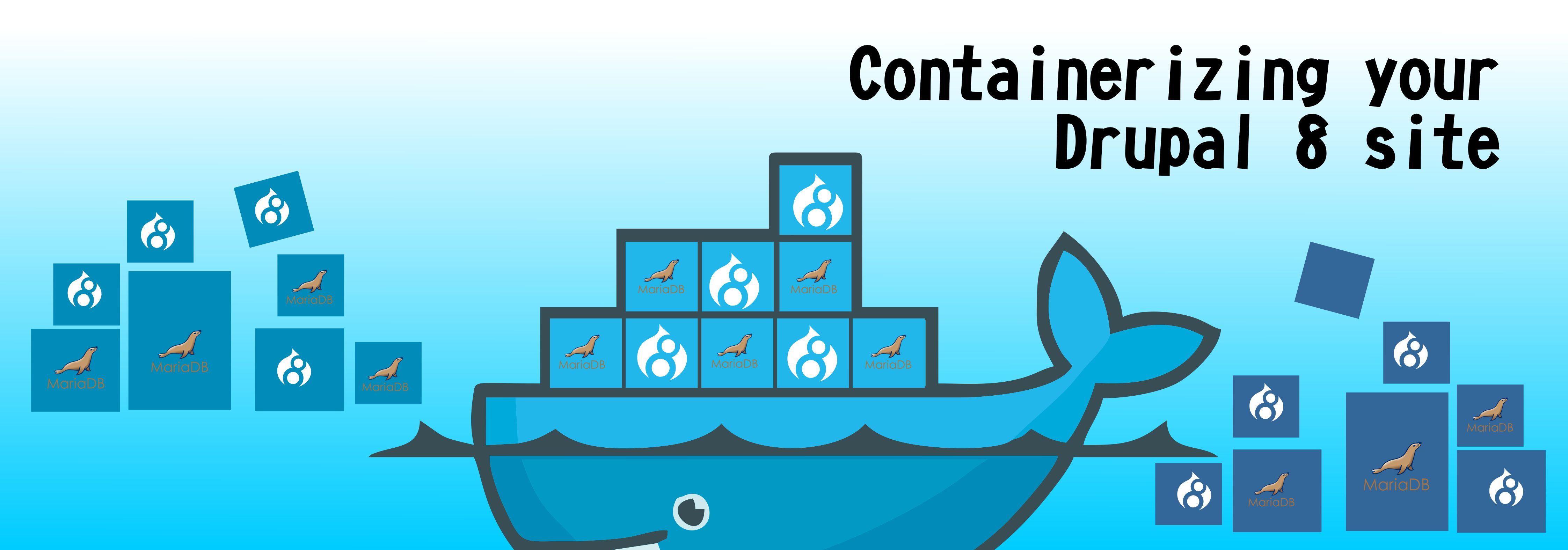 Local Drupal development using Docker